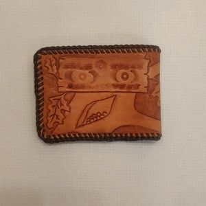 Accessories - Brown Leather Wallet